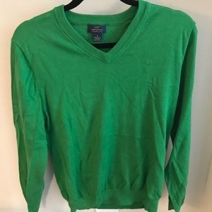 Mens Green Brooks Brothers Sweater